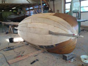 Nieuwbouw van houten jachten