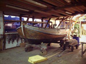 Restauratie aan yachten en schepen